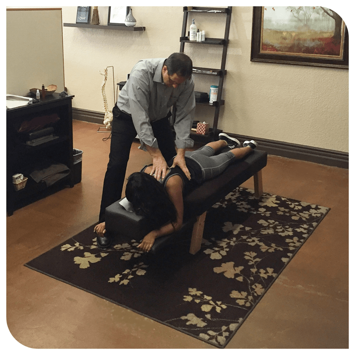 Paitent-Adjustment-by-Dr.-Patrick-Connolly-Just-Chiropractic-Lake-Elsinore-CA
